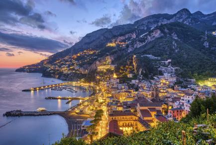 Amalfi viaggio
