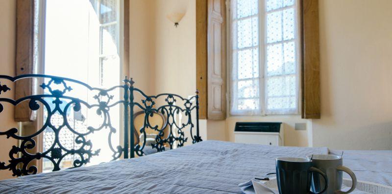 Camera da letto matrimoniale in ferro - Charming House Bice