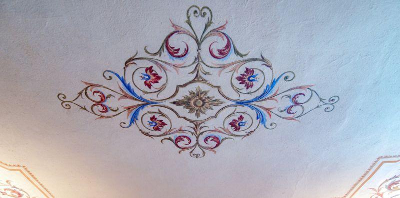 Bellissimo affresco decorativo su muro - Charming House Bice