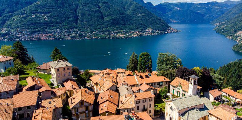 Vista panoramica del Lago di Como - Charming House Bice