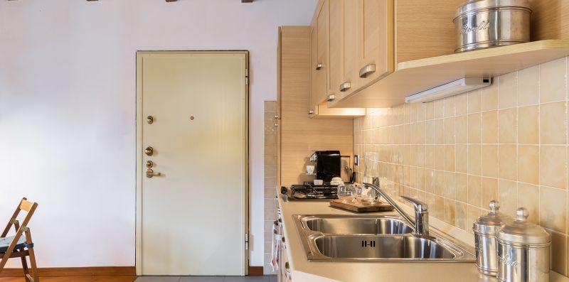 L'angolo cucina con doppio lavello - Contrada San Giacomo