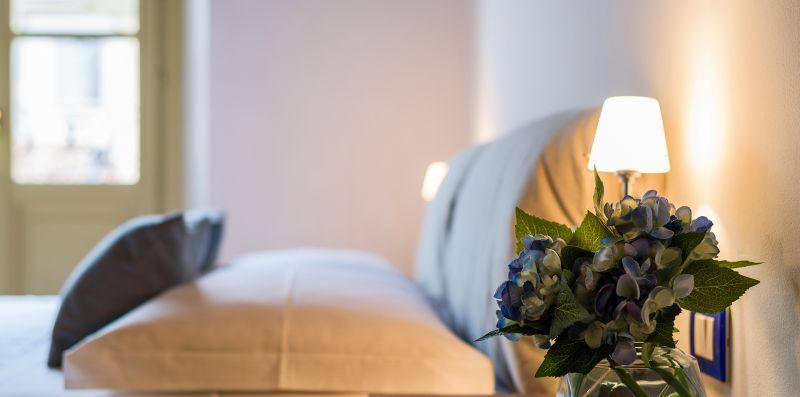 Dettagli della camera matrimoniale - Contrada San Giacomo