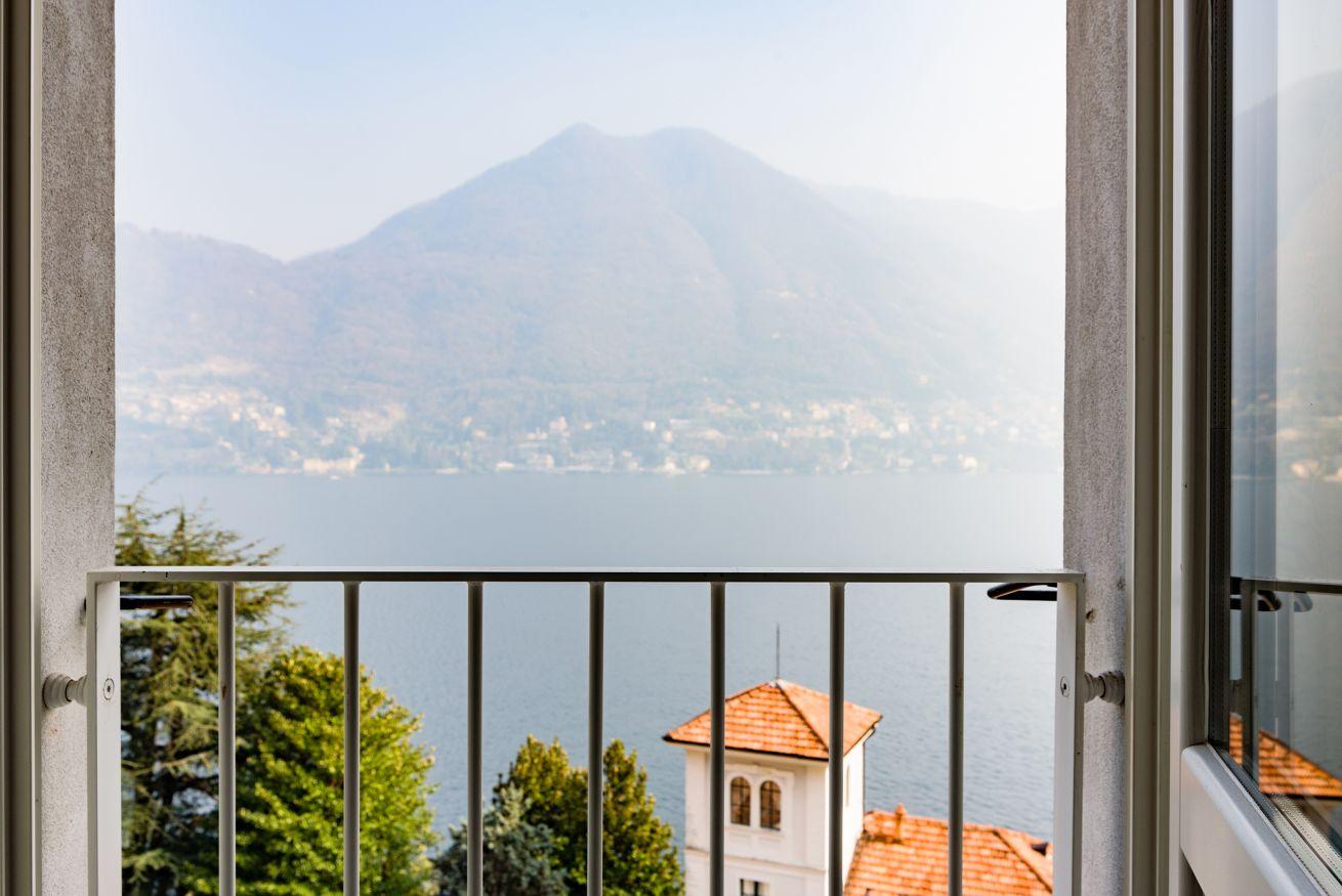 Vista dal lago di Como appartamento Madonnina