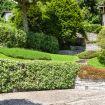 Il bellissimo giardino verde della villa - Cernobbio Lake View