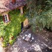 Vista dall'alto del magnifico giardino - Villa Crivelli Visconti