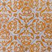 Maiolica bianco e arancione - Palazzo Ajutamicristo Domus