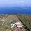 Splendida veduta dall'alto della villa - Giardino sul Mare