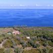 Una seconda veduta dall'alto della villa - Giardino sul Mare