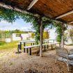 Il grande tavolo da pranzo e cena esterno - Villa Helios