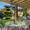 Tavolino circolare per colazioni o pranzi all'aperto - Villa Mito