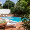 Piscina privata con lettino e barbecue - Villa Castelforte