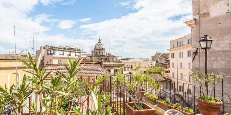 Pallaro Terrace Stunning View - Rome Sweet Home