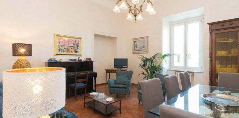 Trastevere Large Comfortable Panoramic Apartment - Rome Sweet Home