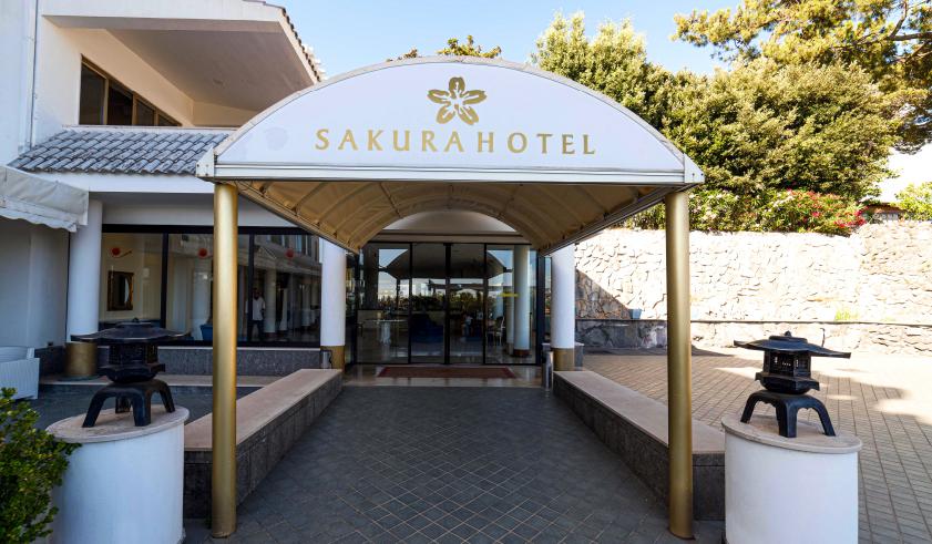 hotel sakura ingresso