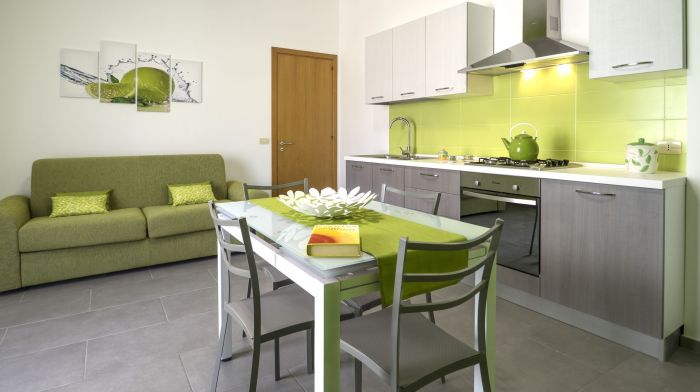 Iride 1, elegant and comfortable one room apartment