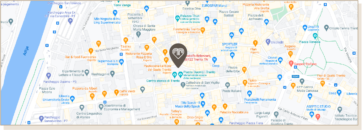 Boutique Trento Location