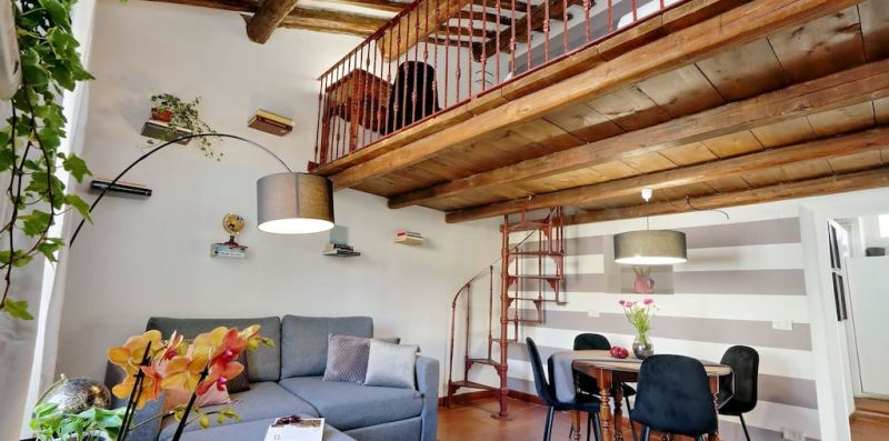 PELLEGRINO 2 ROME - Cozy apartment for 6 with terrace  - Weekey Rentals