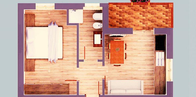 Suite Italy Pinzolo Due  -  App. int. 5 -  Rio Bianco - suiteitaly