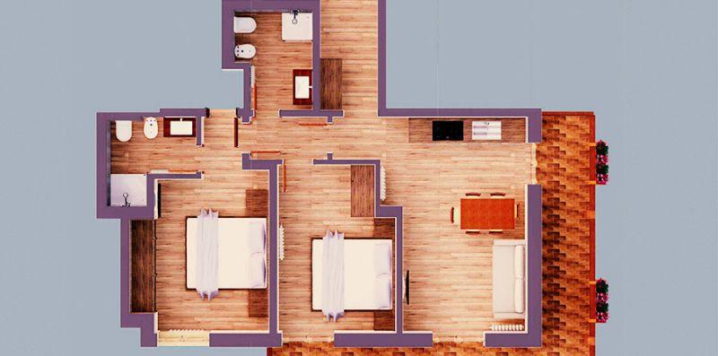 Suite Italy Pinzolo Due  -  App. Int. 7 -  San Giuliano - suiteitaly
